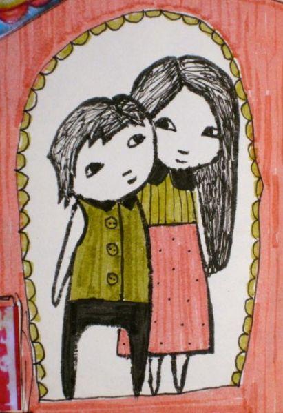 Paula's Pyjama stamp2