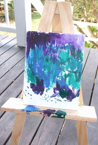 Bronwyn's First Painting