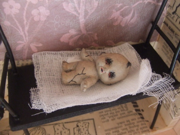 Gothic Doll Art Installation 4