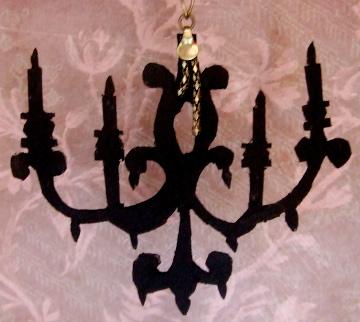 Gothic Doll Art Installation 5