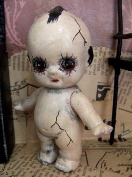 Gothic Doll Art Installation 7