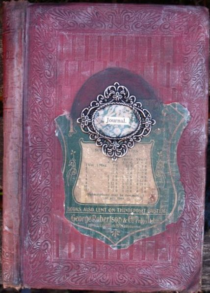 How to make an Altered Book Journal 1
