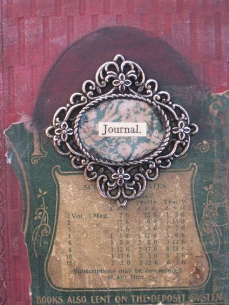 How to make an Altered Book Journal 2