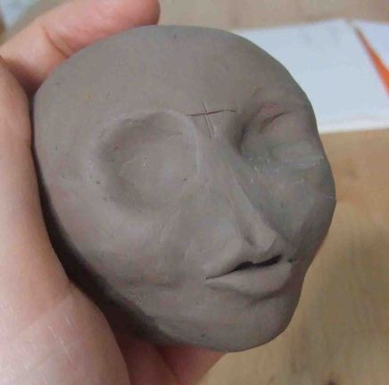 How To Sculpt A Head 7
