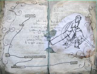 I've got a new art journal 6