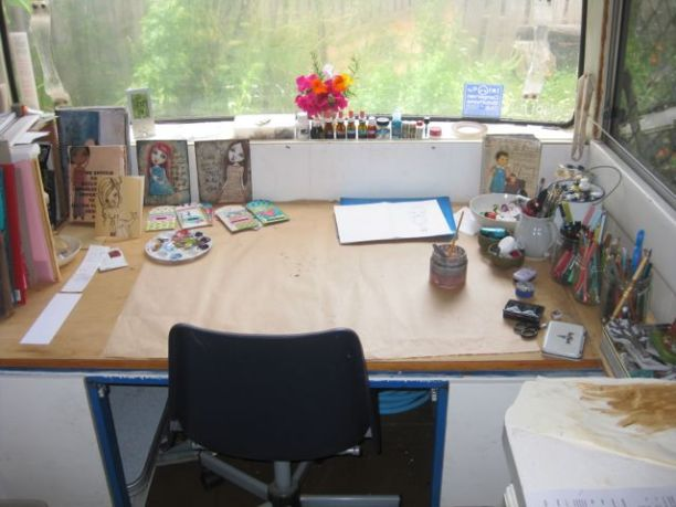 I've got an art studio!