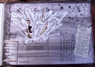 I've started an art journal 2