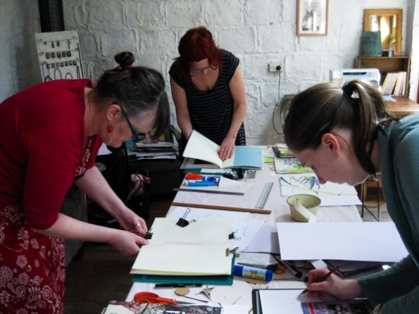 Journal-making workshop 1
