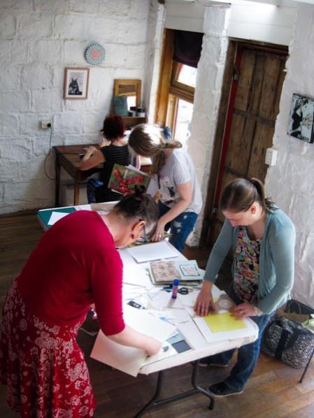 Journal-making workshop 2