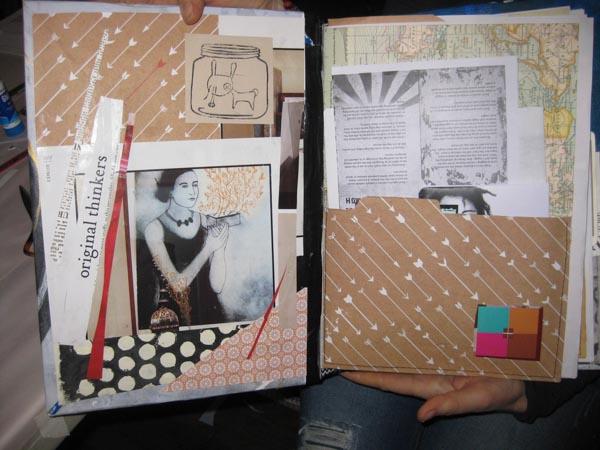 Journal-making workshop 9