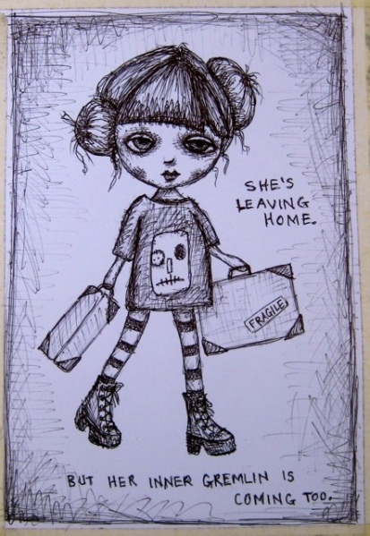 More colouring book dolls 1