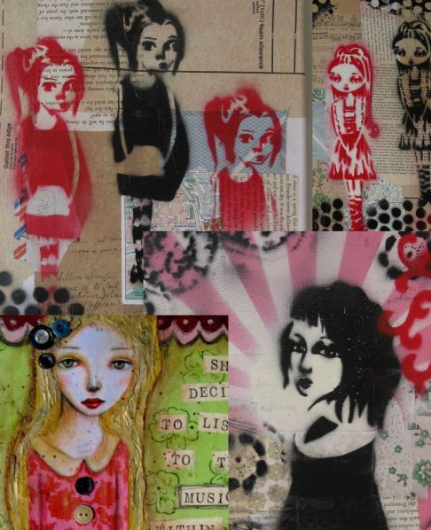 Original paintings on Etsy