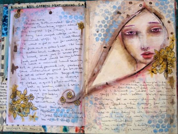 Some pages from my journal 1