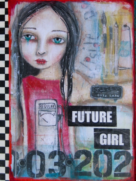 Future Girl e-book cover image