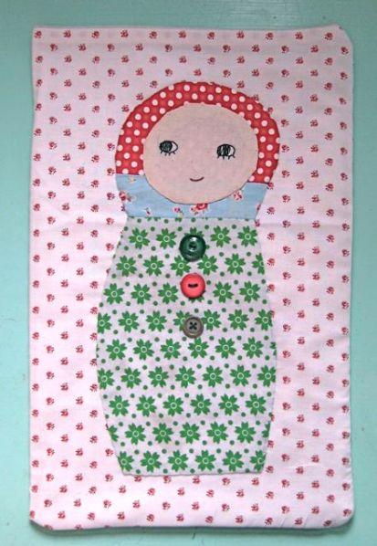 Matroshka Doll Hot Water Bottle Cover