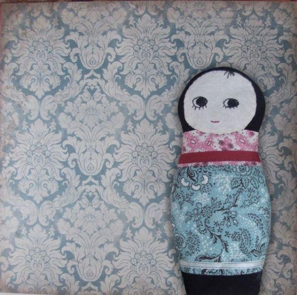Matroshka Doll Wheat Bag