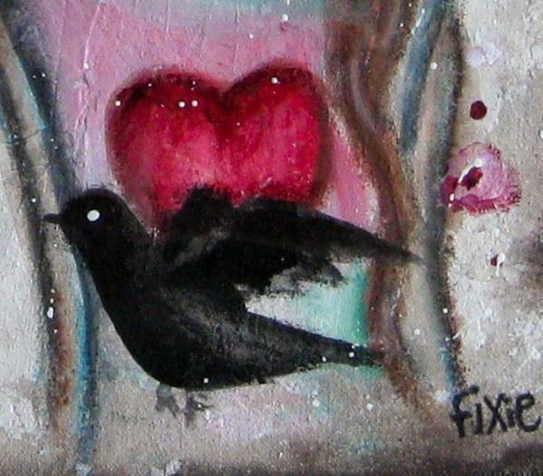 My Heart Is A Bird - Framed-1