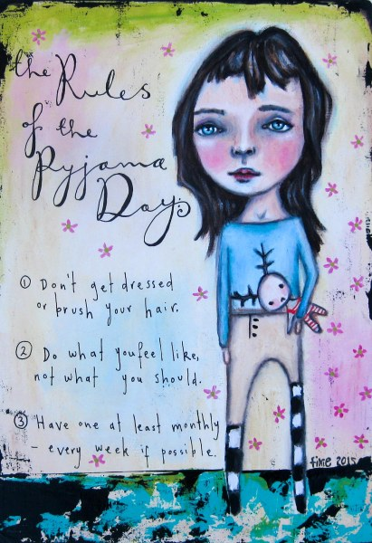 The rules of the pyjama day-2