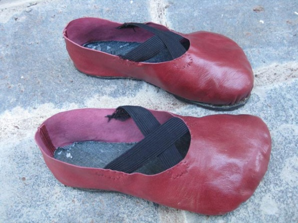 DIY Red Shoes 10