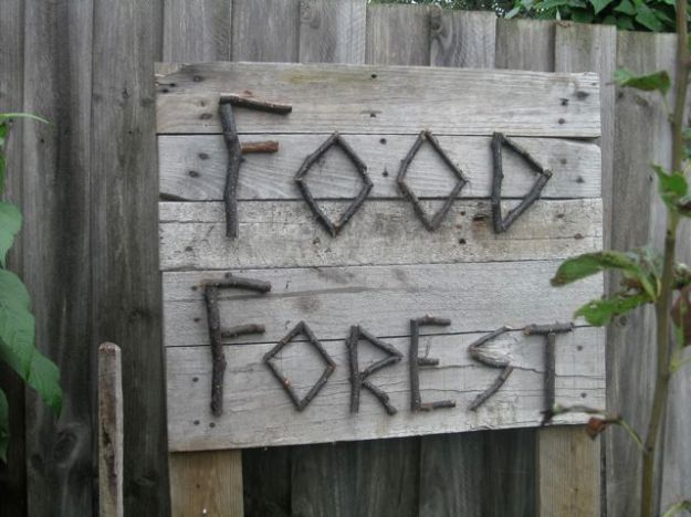 Food Forest Sign 2