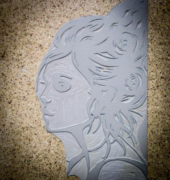 Lino carving-1
