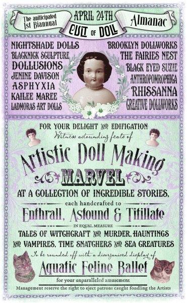 Cult of Doll Almanac Final poster