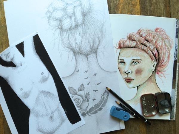 Drawing at 5am