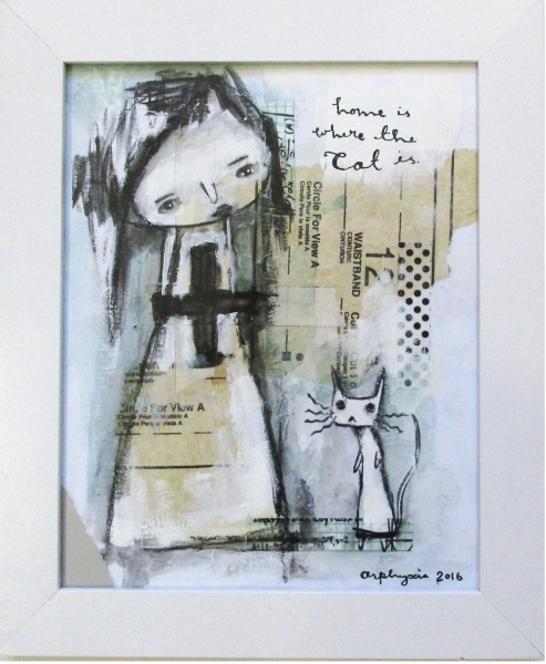 Home is where the cat is - by Asphyxia