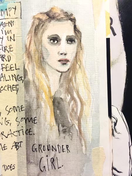 Grounder girl